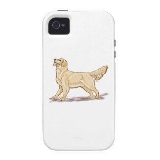Golden Retriever Dog iPhone 4 Cases