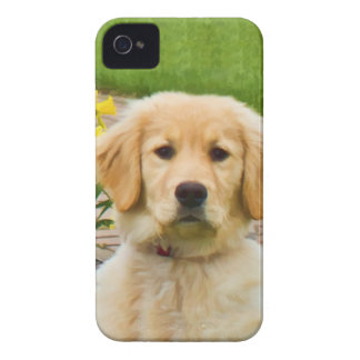 Golden Retriever Dog Case-Mate iPhone 4 Cases