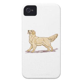 Golden Retriever Dog iPhone 4 Case-Mate Cases