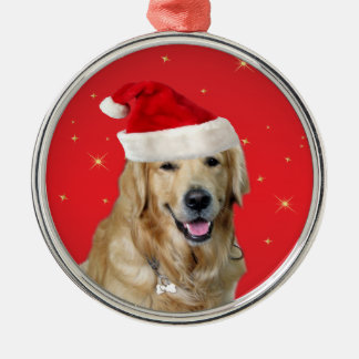Golden Retriever dog christmas holiday ornament