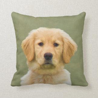 Golden Retriever Dog Cushion