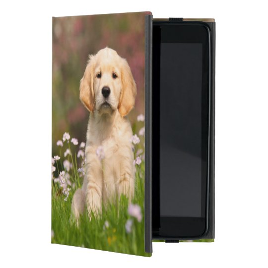 Golden Retriever Dog Cute Goldie Puppy Protection iPad