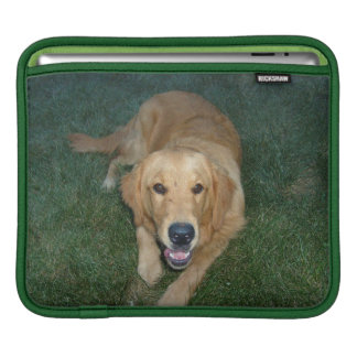 Golden Retriever dog iPad Sleeve