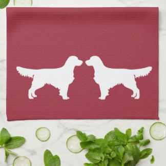 Golden Retriever Dog Kitchen Dish Towel