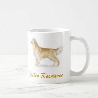 Golden Retriever, Dog Lover Galore! Basic White Mug
