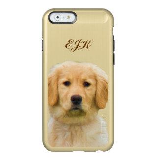 Golden Retriever Dog, Monogram Incipio Feather® Shine iPhone 6 Case