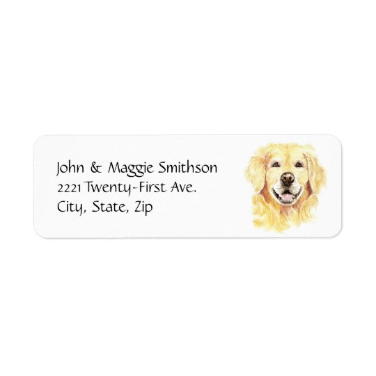 Golden Retriever Dog Pet Animal watercolor