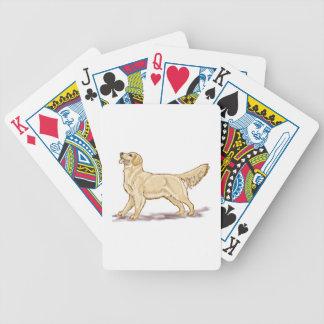 Golden Retriever Dog Poker Deck