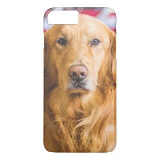 Golden Retriever dog portrait iPhone 7 Plus Case