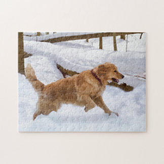 Golden Retriever Dog Puzzle