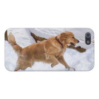 Golden Retriever Dog Savvy iPhone 5 Case
