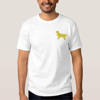 Golden Retriever Embroidered T-Shirt