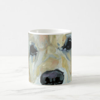 Golden Retriever Eyes and Nose Art Mug