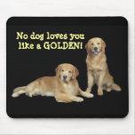 Golden Retriever Father & Son Mousepad