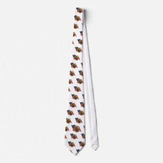 Golden Retriever Flag Tie