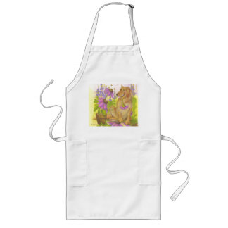 Golden Retriever, Flowers & Bees / Apron