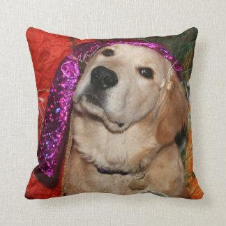Golden Retriever Fortune Teller Cushion