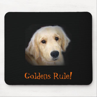 Golden Retriever, Goldens Rule! Mouse Pad