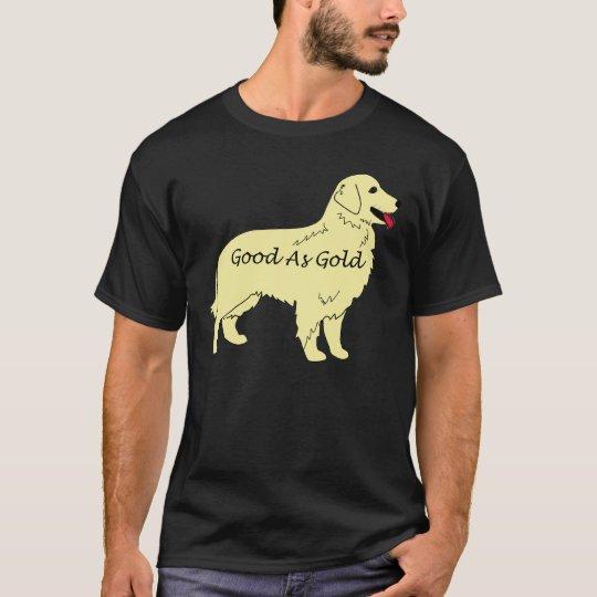 Golden Retriever Good As Gold T-Shirt