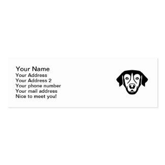 Golden Retriever head Business Card