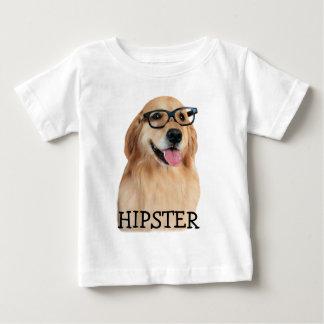 Golden Retriever Hipster Nerd T Shirt