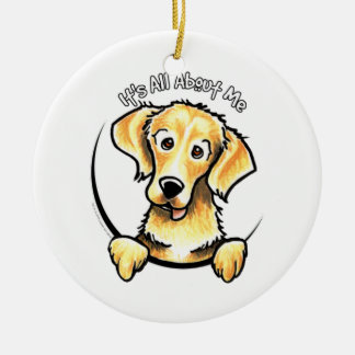 Golden Retriever IAAM Christmas Ornament