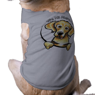 Golden Retriever IAAM Sleeveless Dog Shirt