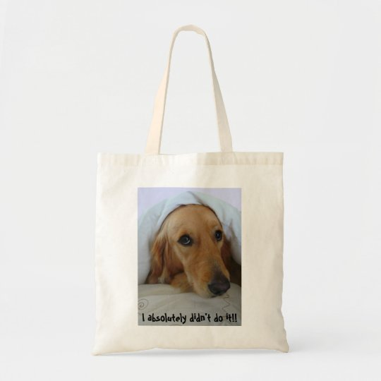 Golden Retriever, Innocent!! Tote Bag
