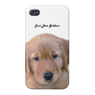 Golden Retriever iPhone 4 Case, Savvy, Puppy Cases For iPhone 4