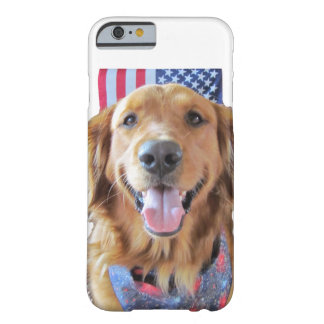 Golden Retriever iPhone 6 Case July 4 Barely There iPhone 6 Case