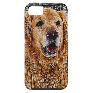 Golden Retriever iPhone Case Tough iPhone 5 Case