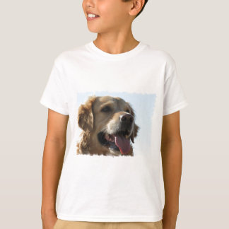 Golden Retriever Kid's T-Shirt