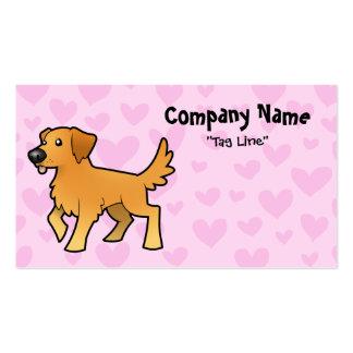 Golden Retriever Love Business Card Templates