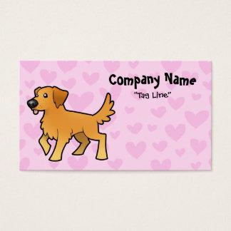 Golden Retriever Love Business Card
