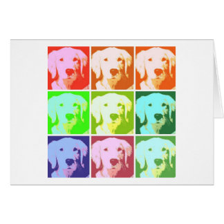 Golden Retriever Love Card