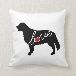 Golden Retriever Love Cushion