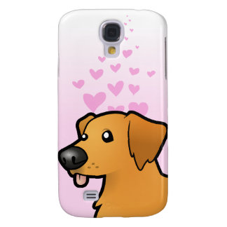 Golden Retriever Love Galaxy S4 Case