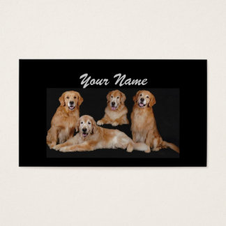 Golden Retriever Lover Business Card