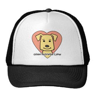 Golden Retriever Lover Mesh Hat