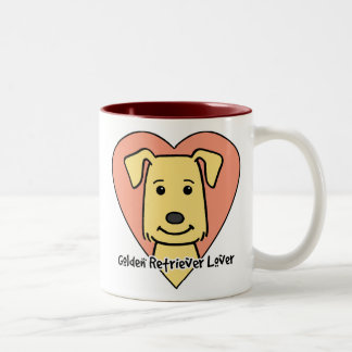 Golden Retriever Lover Coffee Mugs