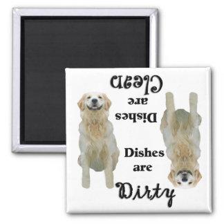 Golden Retriever Lovers Dishwasher Magnet