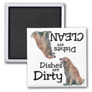 Golden Retriever Lovers Dishwasher Magnet