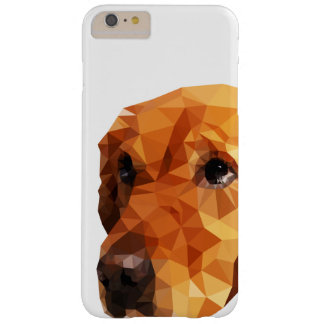 Golden Retriever Low Poly Art Barely There iPhone 6 Plus Case