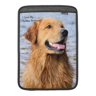 Golden Retriever MacBook Air Sleeve