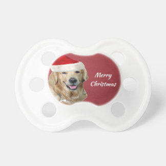 Golden Retriever Merry Christmas Dummy