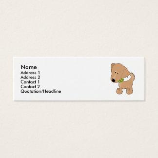 Golden Retriever Mini Business Card