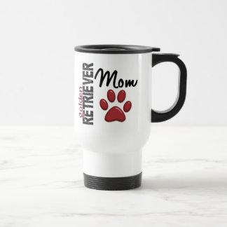 Golden Retriever Mom 2 Stainless Steel Travel Mug