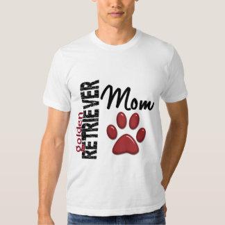 Golden Retriever Mom 2 Tee Shirts