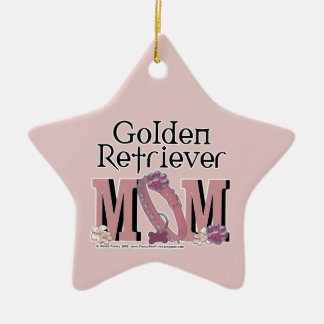 Golden Retriever MOM Christmas Ornament