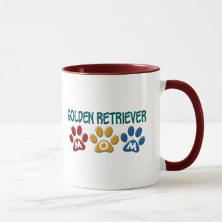 GOLDEN RETRIEVER Mom Paw Print 1 Mug